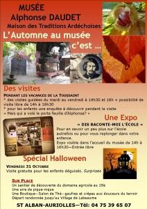 l'automne au musée Daudet